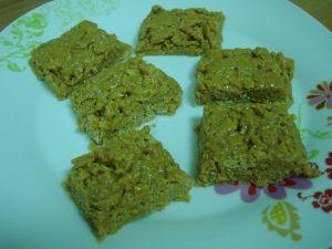 Recette Barres de cereales au beurre de cacahuete