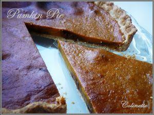 Recette Tarte au potiron ou Pumpkin Pie