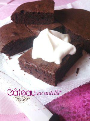 Recette Gâteau au nutella®
