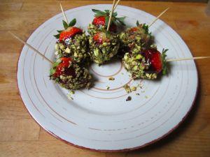 Recette Fraises disco - recette de fraises