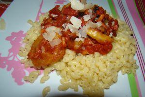 Recette Sauce pour pâtes à la courgettes (Sacla)