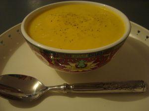 Recette Soupe crémeuse citrouille-coco