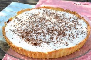 Recette Tarte au chocolat et mousse à la noix de coco