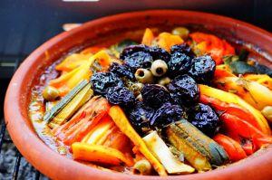 Recette Tajine marocain aux légumes sans viande au barbecue