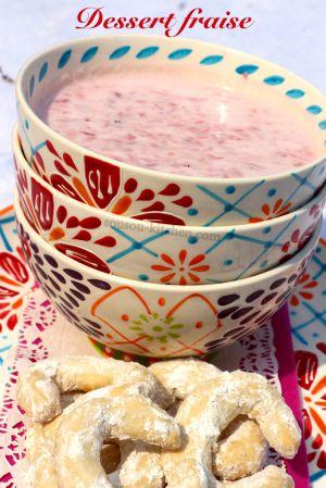 Recette Dessert fraise