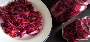 Recette Salade de chou rouge mariné / Salata de varza rosie (Roumanie)