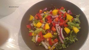 Recette Salade d'avocat et de haricots noirs