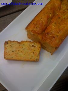 Recette Cake aux courgettes et carottes
