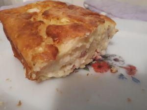 Recette Cake chèvre courgettes