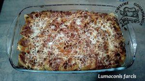 Recette Lumaconis farcis (cookeo)