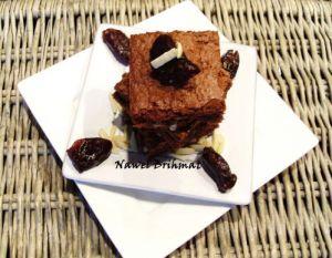 Recette Brownies aux amandes et aux dates