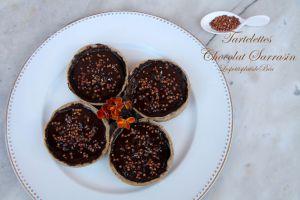 Recette Tartelettes chocolat sarrasin