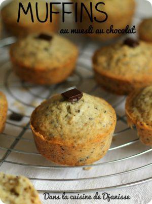 Recette Muffins au muesli au chocolat