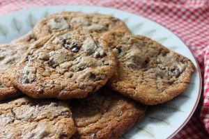 Recette Cookies moelleux au chocolat praliné