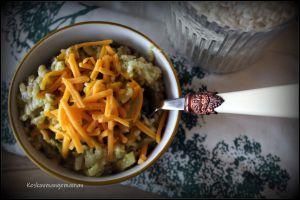 Recette Risotto au brocoli et cheddar