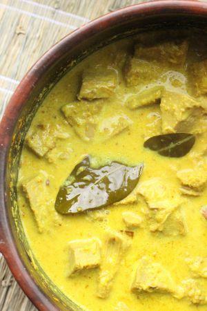 Recette Curry indonésien de fruit de jacquier jeune
