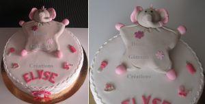 """Recette Gâteau """"Doudou"""" EN Pâte à Sucre"""