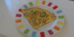 Recette Frittata courgettes, grosse omelette aux légumes