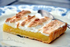 Recette Tarte au citron meringuée de Doriane