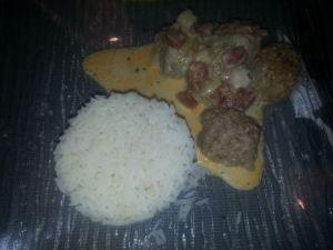 Recette Boulette de viande au chorizo COOKEO
