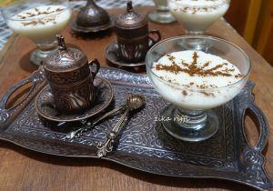 Recette Mhalbi bônois traditionnel en verrines (2)