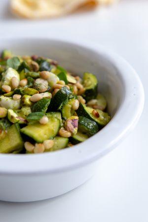 Recette Salade de courgettes froides