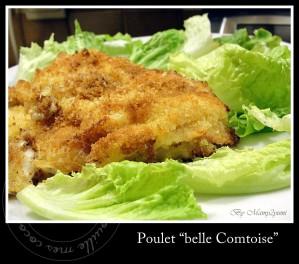 """Recette Poulet """"Belle Comtoise"""""""