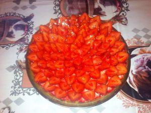 Recette Tarte au fraise