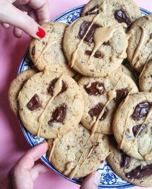 Recette Cookies de Noël, moelleux à cœur, croustillants à l'extérieur