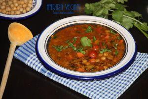 Recette Harira vegan