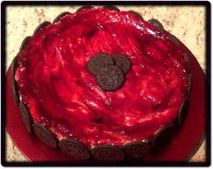 """Recette Variante du Cheesecake: """"Oreo-Framboise"""""""