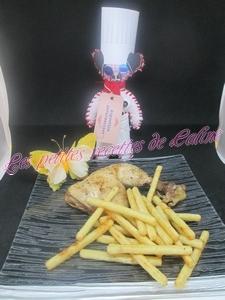 Recette Cuisses de poulet marinées aux épices cajun
