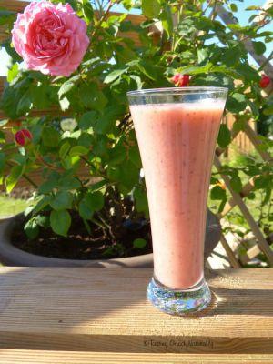 Recette Smoothie à la fraise, la banane et aux graines de chia – Vegan