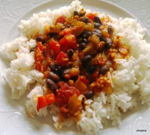 Recette Ragoût de Haricots Noirs façon Chili