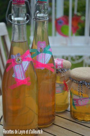 Recette Vin de fleurs de sureau et gelée de fleurs de sureau