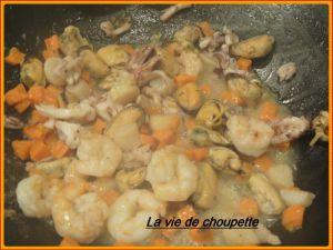 Recette Cocottes fruits de mer