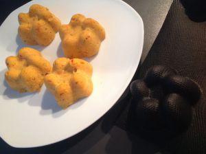 Recette Polenta aux poivrons