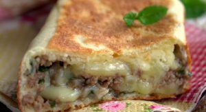Recette Crepes turques a la viande hachée, Gozleme