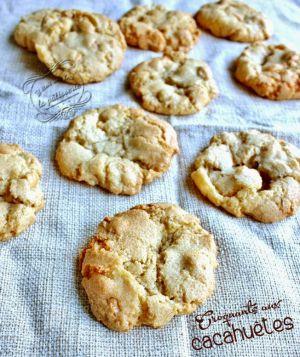 Recette Croquants aux cacahuètes