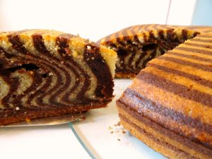 Recette Zebra cake