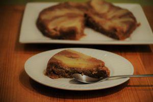 Recette Gâteau Poires-Marrons