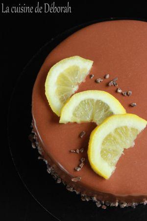 Recette Entremets citron-chocolat