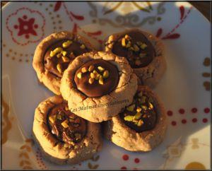 Recette Biscuits pâte à tartiner, cœur pâte à tartiner