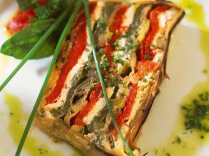 Recette Terrine de Légumes Grillés - Chèvre et une Salsa Verde