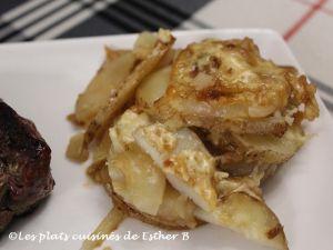 Recette Gratin de pommes de terre à l'oignon