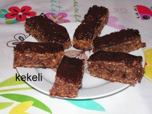 Recette Barres de céréales au chocolat