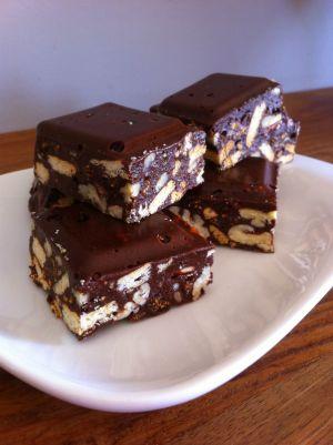 Recette Friandises chocolaté aux chamallows