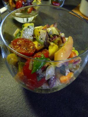 Recette Salade avocat aux fruits de mer