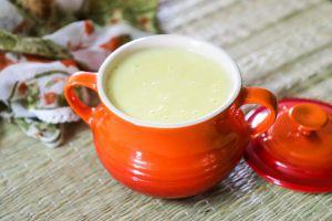 Recette Crème aux oeufs et à la pomme au Thermomix