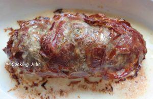 Recette Polpettone (pain de viande à l'italienne)